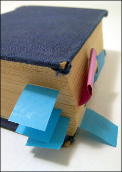 Book With Post Its