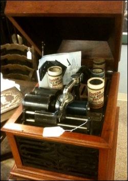 Edison Cylinder Photograph