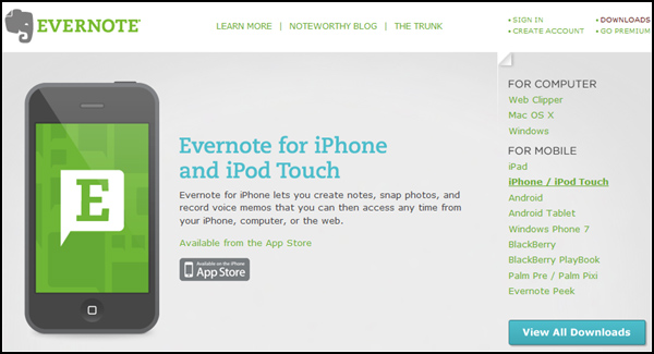 The Juggling Writer – Evernote for Writers