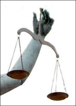 Balance scales.