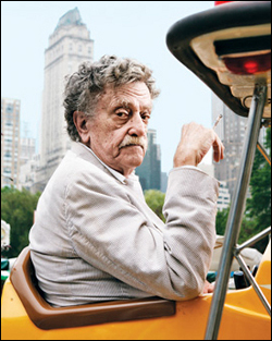 Kurt Vonnegut photo.
