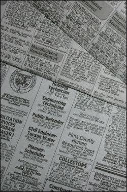Newspaper want ad
