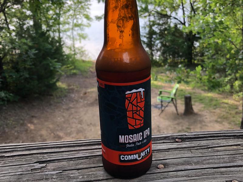 Community brewing Mosaic IPA.