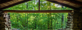 Caddo Lake State Park CCC Pavilion
