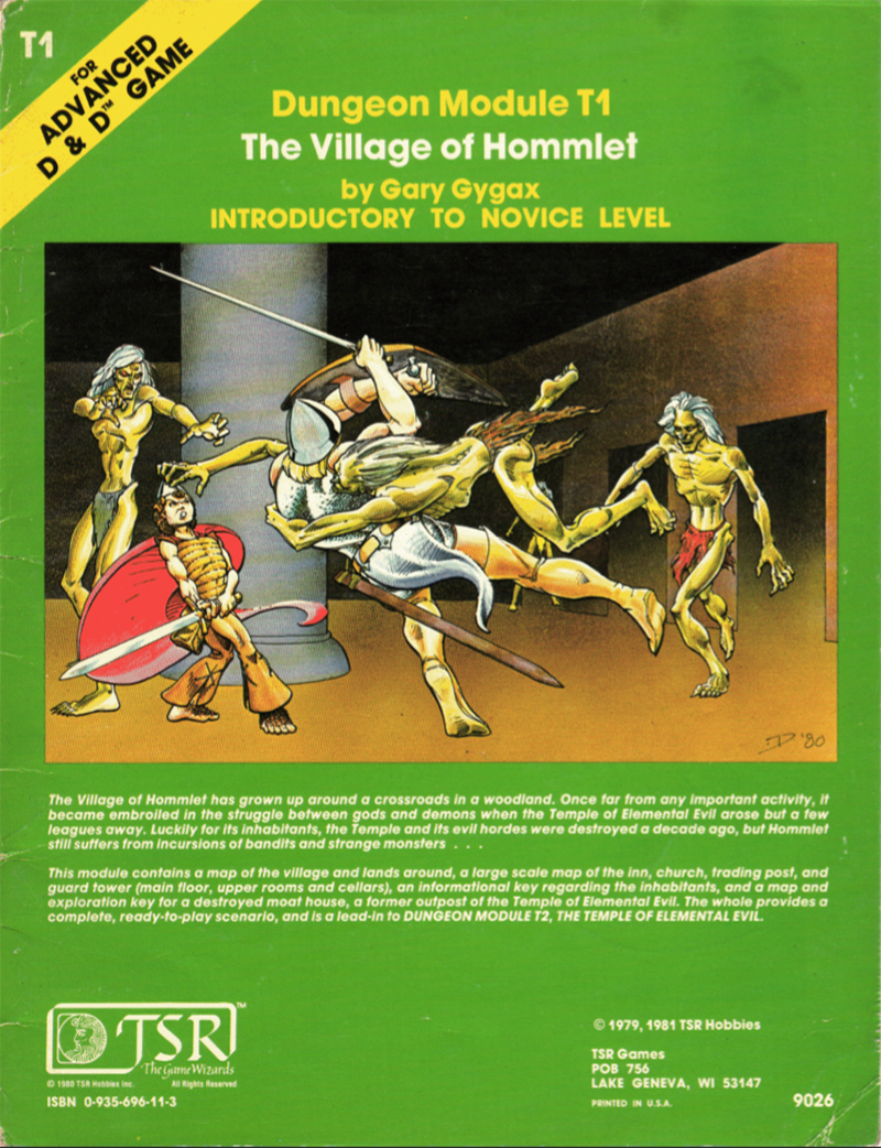 Dungeons and Dragons: The Village of Hommlet