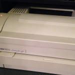Broken HP LaserJet 4L Printer