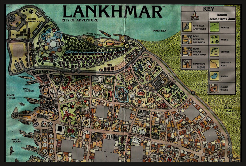 Lankhmar Neighborhood - Everything I Learned about Writing I Learned in Lankhmar