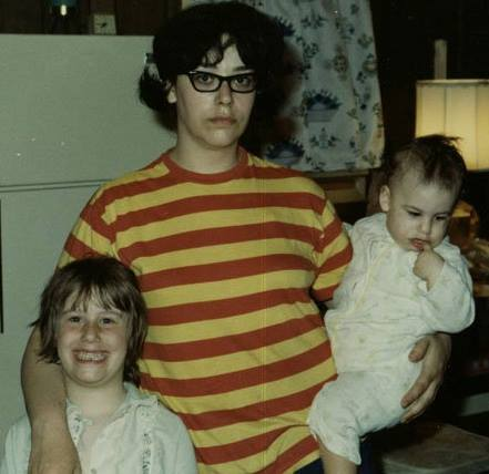 My mom, my sister, and me (1969)