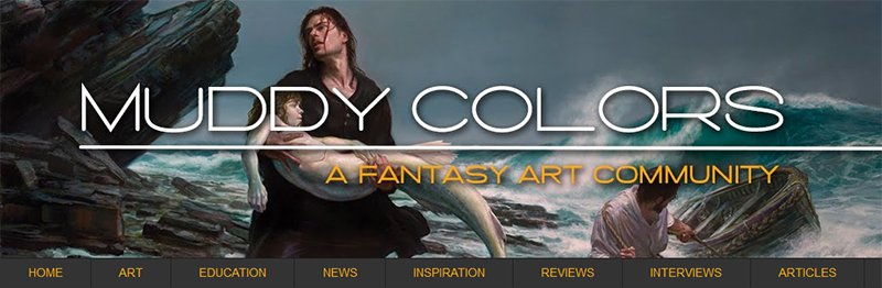 Muddy Colors blog banner
