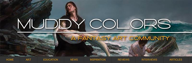 Muddy Colors blog banner