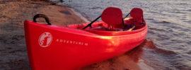 Mad River Adventure 16 Canoe on a Beach