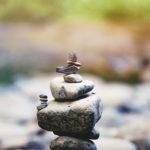 Balanced stones.
