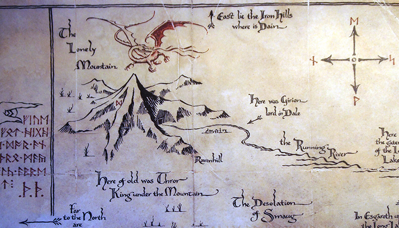 The Map of Thorin Oakenshield
