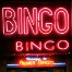 Neon bingo sign.