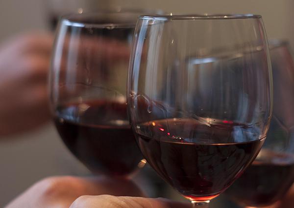 Wine glasses - cheers!