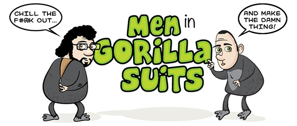 Men in Gorilla Suits Logo