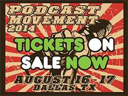 Podcast Movement 2014 Icon