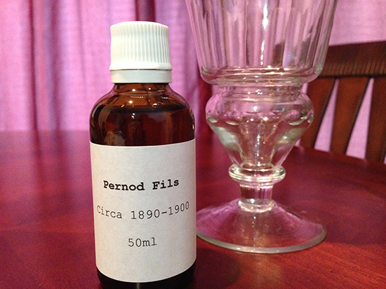 Sample bottle: 1890-1900 Pernod Fils Absinthe